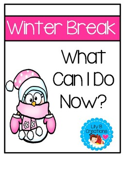 Winter Break Activity Packet