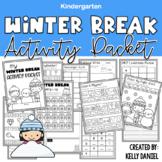 Winter Break Activity Packet | Kindergarten | Distance Learning
