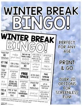 Winter Break BINGO!