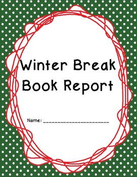 Winter Break Book Report