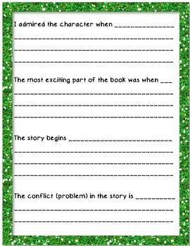 Winter Break Book Report