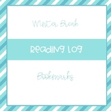 Winter Break Bookmarks and Reading Log