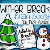 Winter Break Brain Boost for First Grade!