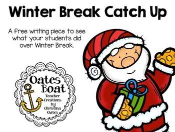 Winter Break Catch Up