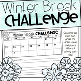 Winter Break Literacy and SeeSaw Challenges