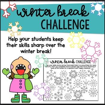 Winter Break Challenge - New Year 2018 - Keep skills sharp - Homework