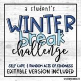 Winter Break Challenge: Student Edition