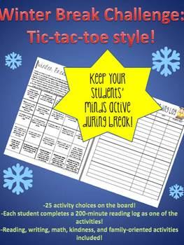 Winter Break Challenge- Tic-tac-toe!