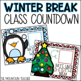 Winter Break Countdown