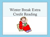 Winter Break Extra Credit Reading Assignment