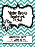 Winter Break Homework Challenge - K