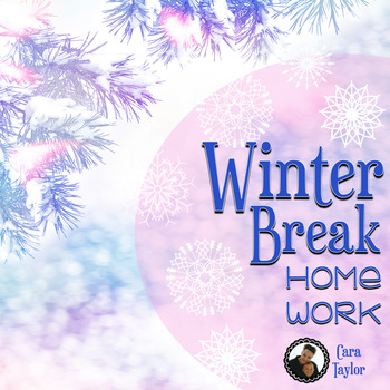 Winter Break Homework ~ Activities for Vacation