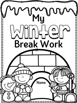 Winter Break Homework Activities