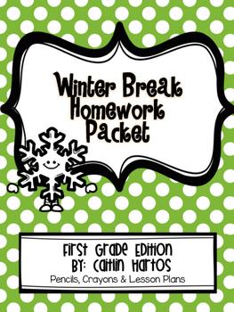 Winter Break Homework Challenge- 1st Grade