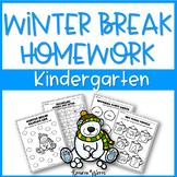 Winter Break Packet Kindergarten