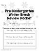 Winter Break Homework Packet