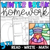 Winter Break Homework Packet 5th Grade