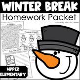 Winter Break Homework Packet - Print & Go