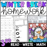 Winter Break Homework Packet 3rd and 4th Grade