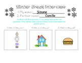 Winter Break Interview