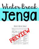 Winter Break Jenga