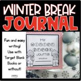 Winter Break Journal for TARGET BOOKS