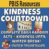 Winter Break Kindness Countdown or Advent Calendar
