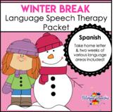 Winter Break Language Packet - Spanish!