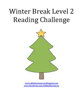 Winter Break Level 2 Reading Challenge