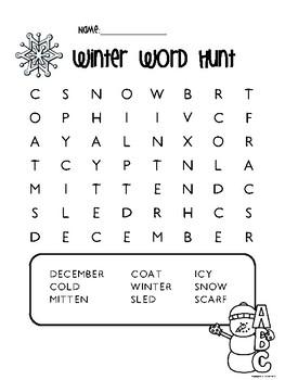 Winter Break Lotto