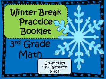 Winter Break Math
