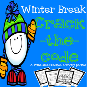 Winter Themed Math & Literacy Packet - Print and Practice