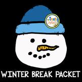 Winter Break Math Packet (4th-5th grade)