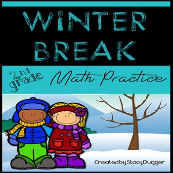 Winter Break Math Work Packet