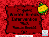 Winter Break Math for 2nd grade