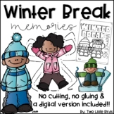 Winter Writing Activity: Winter Break Memories, Book Writing Activity