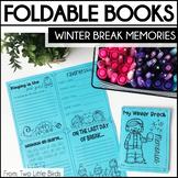 Winter Writing Activity: Winter Break Memories, Book Writi