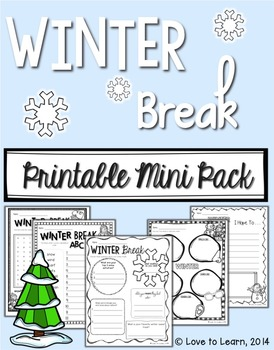 Winter Break Mini Pack