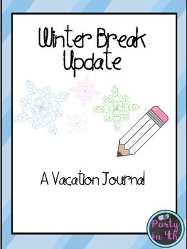 Winter Writing Journals!
