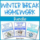 Winter Break Packet Bundle