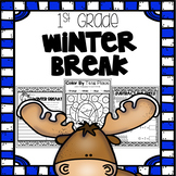 Winter Break Packet - First Grade