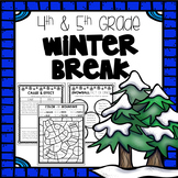 Winter Break Packet - Fourth and Fifth Grade