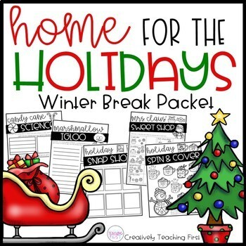 Winter Break Packet- Home for the Holidays