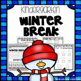 Winter Break Packet - Kindergarten