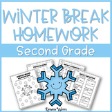 Winter Break Packet Second Grade