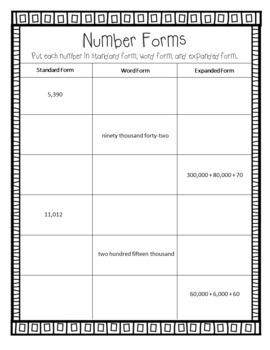 Eureka Math Winter Break Packet - 4th Grade Spiral Review (Distance Learning)