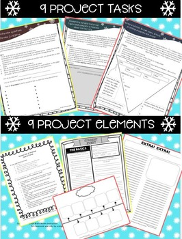 Winter Holiday Activities, Christmas Break Project, Holiday Break Project