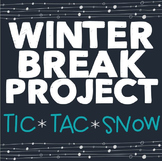 Winter Holiday Activities, Christmas Break Project, Holida