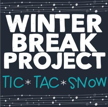 Winter Holiday Activities, Christmas Break Project, Holida