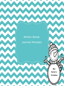 Winter Break Prompts with Paper and Parent Letter